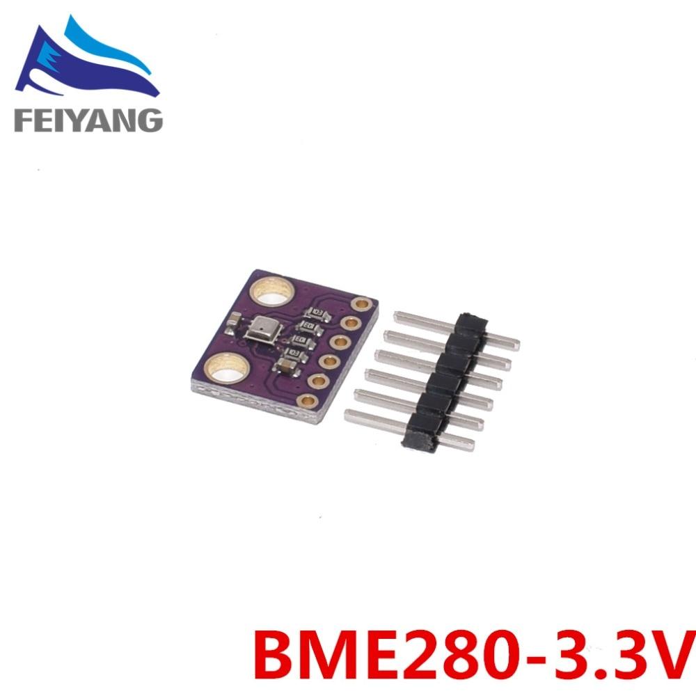 1PCS GY-BME280/GY-BME280-3.3 Precision Altimeter Atmospheric Pressure BME280 Sensor Module