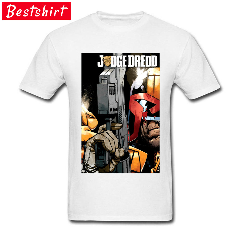 JudgeDredd Movie Tshirts Instantion Judge Dredd Funny Anime Comic DC T Shirts Top Quality Streetwear Father Day Gift T Shirt Men