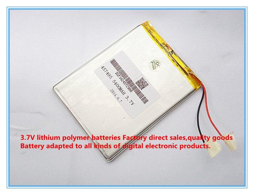 font b Tablet b font font b pc b font 3 7V 5400mAH polymer lithium