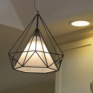 Image 5 - 現代の鉄塗装産業シャンデリアE27ダイヤモンドシャンデリアled 220 12v照明リビングルームキッチン寝室バーホテル