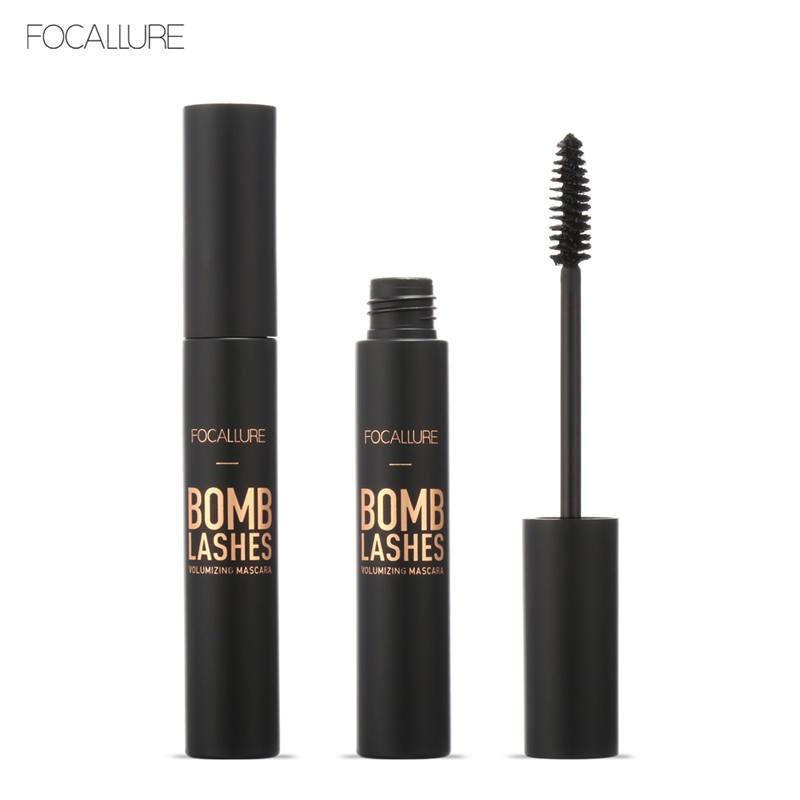 FOCALLURE Professional 3D Black Volume Curling Mascara  EYE Makeup Waterproof Thick Lengthening Eyes Beauty Makeup
