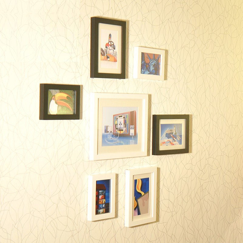 Hallway Bedroom Wall Decoration Picture Frames Photo Frames On the ...