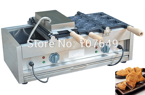 Hot Sale Commercial Use Non-stick 110v 220v Electric 6pcs Fish Waffle Baker Maker Machine 6 4 4m bounce house combo pool and slide used commercial bounce houses for sale