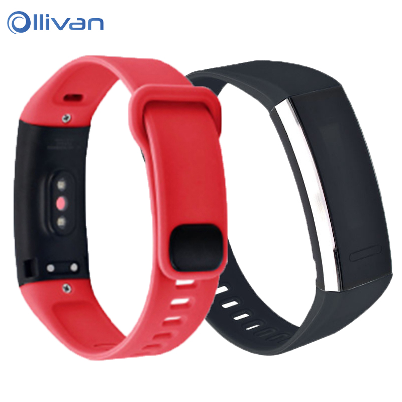 Replacement Watchband For Huawei Band 2 Strap Silicone Wrist Strap Bracelet Accessories For Huawei Band 2 Pro B19 B29 SmartWrist