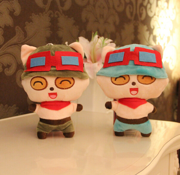 LOL Teemo Character Plush Character Soft Toy Stuffed Animal Doll