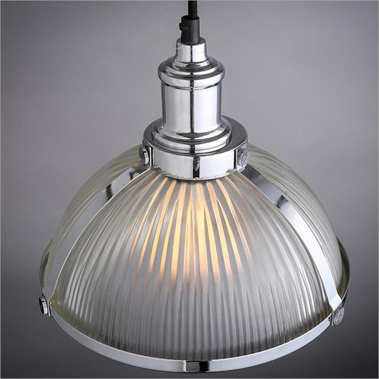 Nordic American retro style loft industrial warehouse personality living room lights restaurant bar cafe glass chandelier lamp цепочка