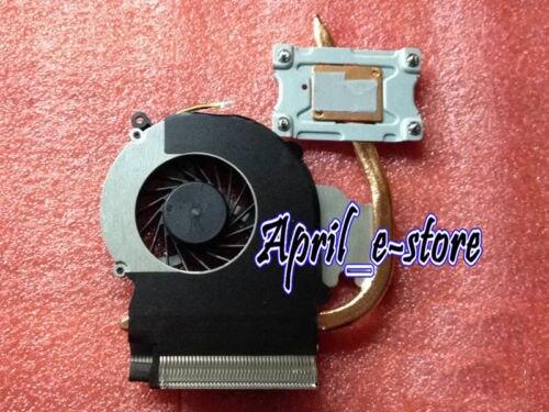Novo para hp compaq cq43 cq57 cq431 431 430 435 436 cpu ventilador do dissipador de calor 646181-001, frete grátis!!