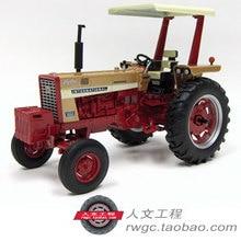 Case ih 656 трактор Case IWC золотой модель автомобиля американского бренда ERTL 1:16