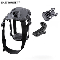 Go Pro Accessories Dog Harness Fetch Chest Strap Adjustable Belt Mount For GoPro HD Hero 4