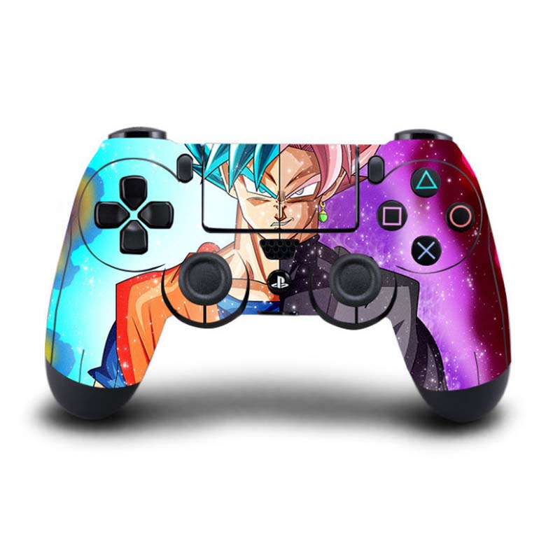 Anime Dragon Ball Super PS4 Skin Sticker Decal Vinyl For Sony PlayStation 4 for Dualshock 4 Game Controller PS4 Skins Sticker
