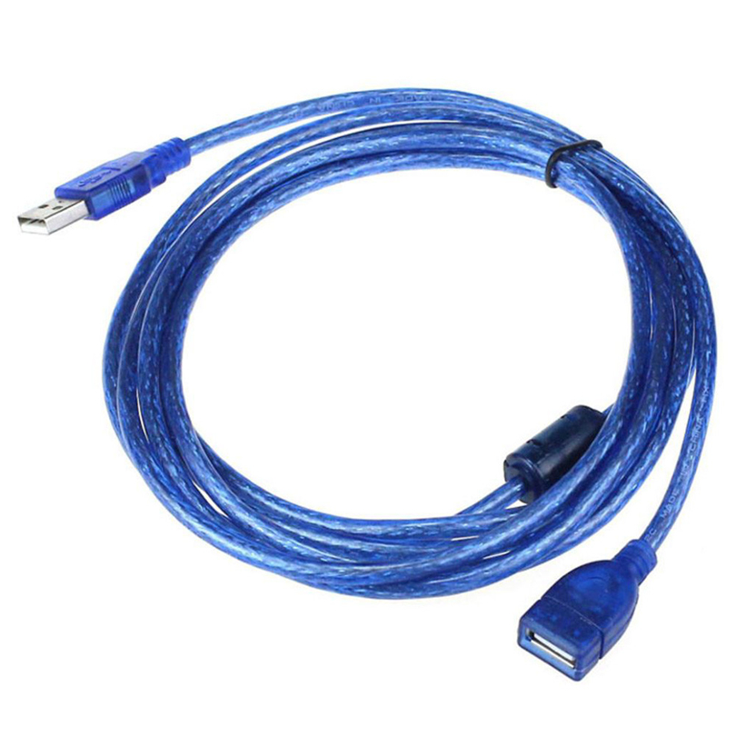 10FT 1.5M USB 2.0 A Male M To A Female For Extension Cable For External Hard Drives Modems Printers Scanners Best Price A20