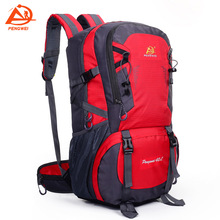 40L Waterproof Outdoor Mountaineering Bag Backpack Women Men Couple Travel Hiking Camping Climbing Rucksack Sport Pouch