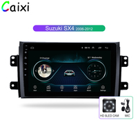 CAIXI Car Android 8.1 Radio Multimedia Player for Suzuki SX4 2006 2007 2008 2009 2010 2011 2012 2013 Car GPS Navigatio PLAYER
