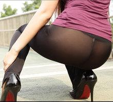 Cheap Sheer Capri Leggings