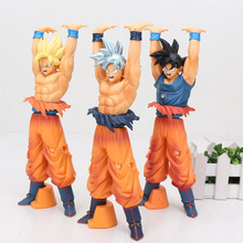 15-24cm Dragon Ball Z Figures Toys Super Saiyan Son Goku Genki dama Spirit Bomb Dragonball DBZ Model Toy