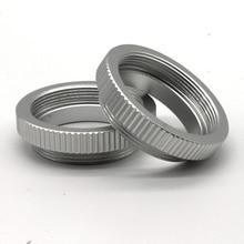5 חתיכות מאקרו C הר טבעת מתאם עבור 25mm 35mm 50mm סרט טלוויזיה במעגל סגור עדשת M4/3 NEX מצלמה כסף