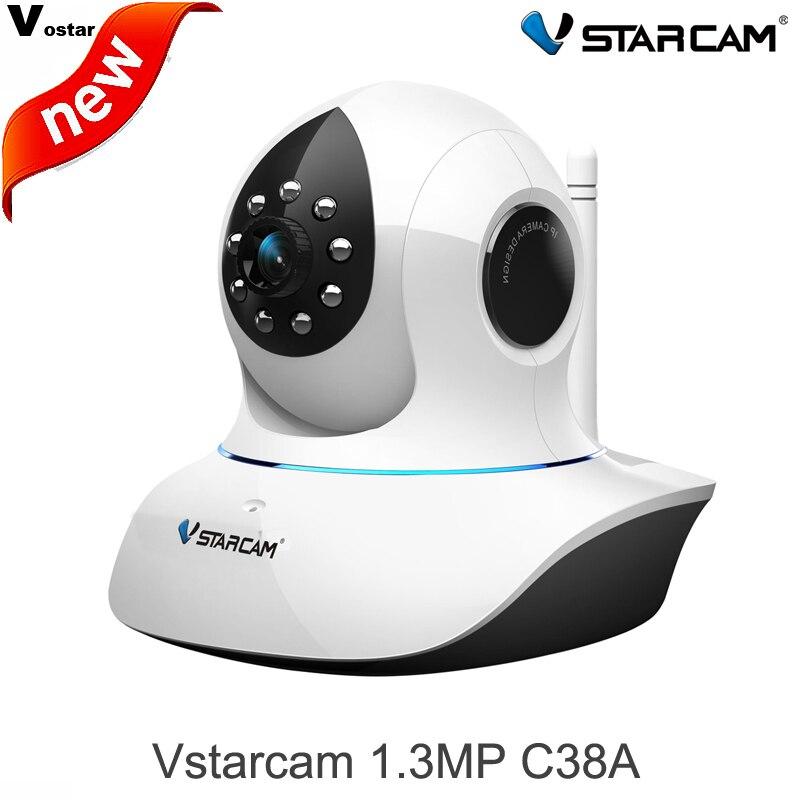 ФОТО VStarcam 1.3MP 960P IP Camera C38A wireless CCTV Indoor Camera Pan/Tilt/ Night Vision Security Internet Surveillance Camera