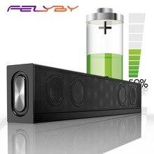FELYBY S688 Soundbar Speaker Sem Fio Bluetooth Speaker subwoofer computador falante de áudio home theater AUX TF Bluetooth coluna