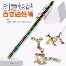 Decompression toy magnet pen metal touch screen decompression capacitor Polar Pen gift titanium fidget