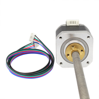 New 3D Printer NEMA 17 Lead Screw 300mm Stepper Motor Z Axis 3D Printer KIT Step