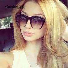 Plana cat eye famoso diseñador de la marca gafas de sol de las mujeres gafas de sol de señora uv400 marco del metal medio marco clásico de mitad de llantas