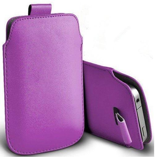 Nueva bolsa de cuero de la pu bolsas móvil casos case bolsa para acer liquid e2