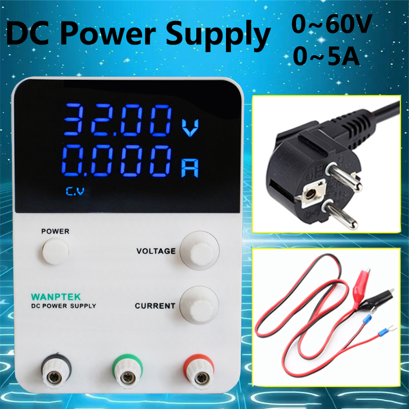 Mini laboratory digital DC Power Supply 0-60V 0-5A four display Single phase adjustable Switch Power Supply Voltage Regulators rps6005c 2 dc power supply 4 digital display high precision dc voltage supply 60v 5a linear power supply maintenance