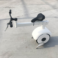New folding electric scooter for adult one wheel motorcycle WITH TURNING HANDLE BAR SHINNING WHITE COLOR