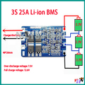 3 S 25A 11.1 В li-ion DIY BMS PCM защиты аккумулятора доска bms pcm для литий Limn2O4 LicoO2 батареи