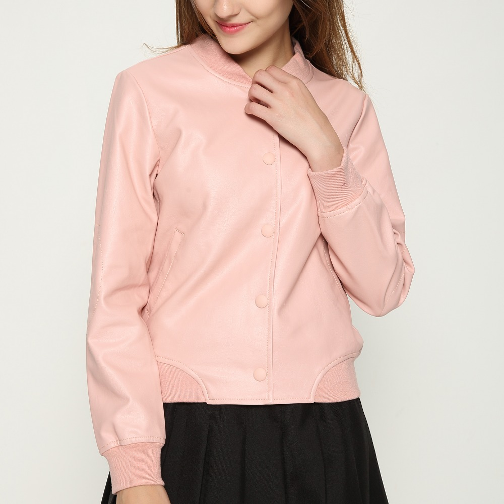 Hot Sale 2017 New Fashion Winter Coat Women PU Leather