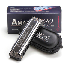 Kongsheng 10 Hol Blues Harp Mouth Ogan Instrumento Musical Harmonica Blues Diatonica Armonica Woodwind Instruments Mondharmonica