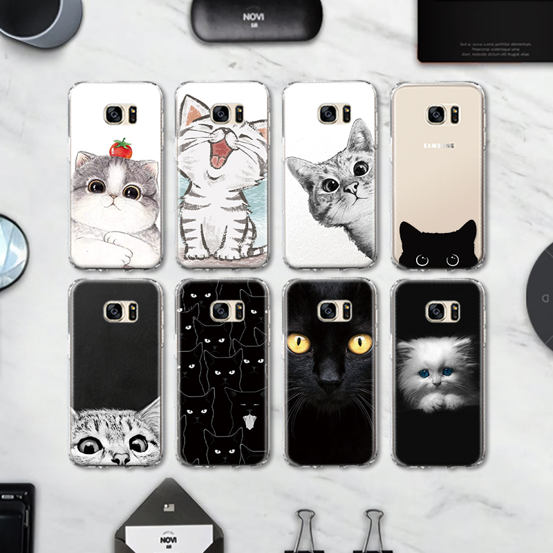 Cool Animal Panda Husky Puppy Cover For Samsung Galaxy S4 S5 Mini S6 S7 Edge S8 S9 Plus Grand Prime Note 4 5 8 Silicone Case Cellphones & Telecommunications Phone Bags & Cases