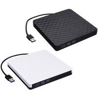Portable USB 3 0 DVD Writer External Optical Drive DVD Burner Slim Ultra DVD ROM Player
