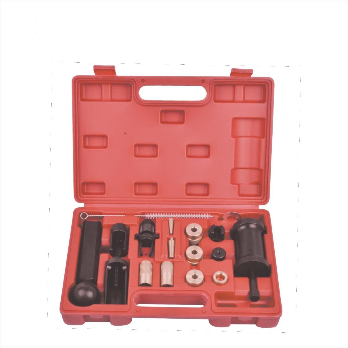 18PC Injector Puller Removal Installer Tools Set For VAG Audi VW FSI Petrol