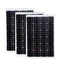 PV Панель 12v 60w 3 шт солнечные модули 36v 180w мобильное солнечное зарядное устройство солнечная система для дома вне сетки свет СИД RV автомобиль ...