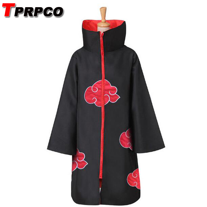 TPRPCO Cos Cosplay naruto Akatsuki Orochimaru uchiha madara Sasuke itachi Pein Costume cloak cape wind Dust Coat NL1401