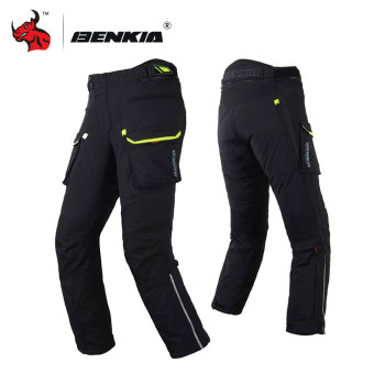 BENKIA Motorcycle Pants Motorbike Trousers Motorcycle Racing Winter Pants Detachable Liner Motocross Off-Road Knee Protective