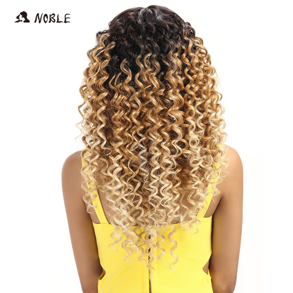 Noble Loose Wave Lace Front Περούκες 26 ιντσών Long - Συνθετικά μαλλιά - Φωτογραφία 3