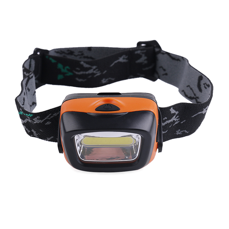 PANYUE Waterproof Rain Resistant 5W High Power C0B LED Headlamp 3-Modes Headlight Mini Head Flashlight Torch Powered by 3*AAA