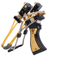 Strong Powerful Sling Outdoor Camping Survival Tools Laser Aiming Catapult Slingshot For Hunting