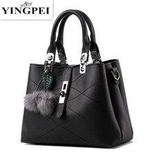 YINGPEI crossbody for women messenger bags handbags famous brands leather luxury designer BlackBlue school ladies hand