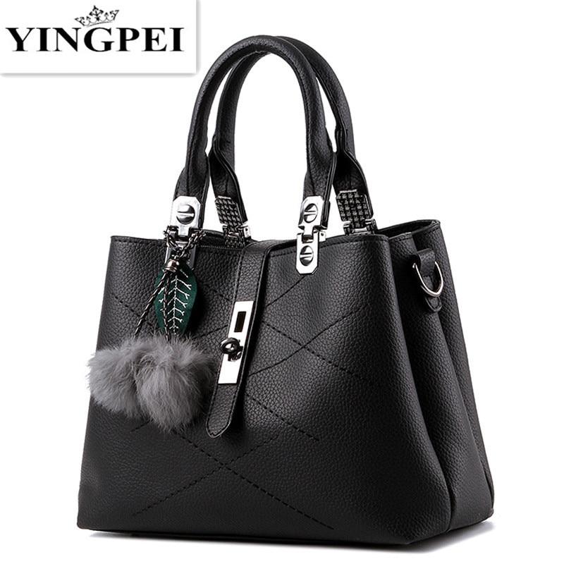 YINGPEI kvinnor messenger väskor handväskor kända varumärken - Handväskor