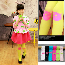 Girls Leggings 2019 Brand Children Spring Summer Autumn Print Color Skinny Kids Baby for Pants DS19