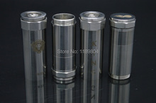 2ชิ้นบุหรี่อิเล็กทรอนิกส์ขายส่งcigอีmechancialสมัยvaporizerสแตนเลสคิงmodกับแพคเกจกล่องของขวัญ