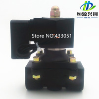 Free Shipping 1/4,1/8,1/2,3/4,1,2, AC220V,DC12V/24V Plastic Electric Solenoid Valve Pneumatic Valve for Water Oil Air Gas