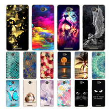 For BQ Aquaris U / Lite 5.0 Case Cover, Soft Silicone Back Cover Phone