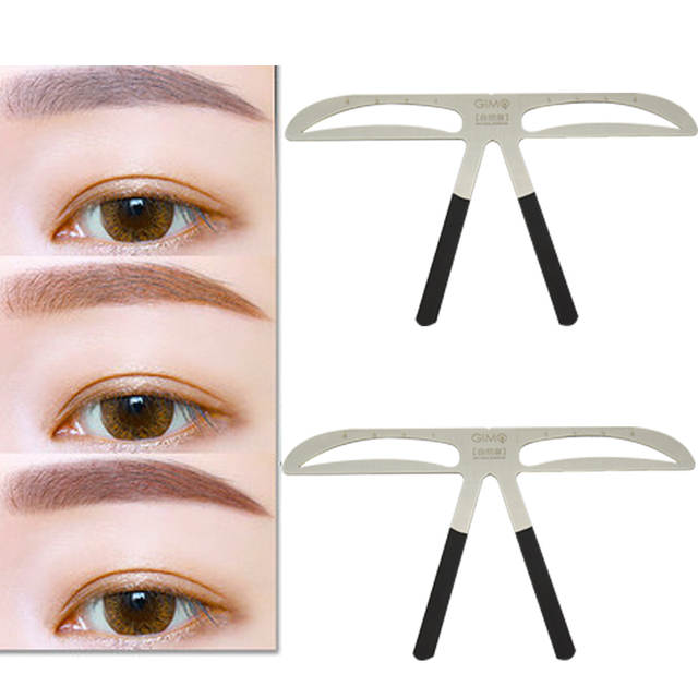 Online Shop Diy Beauty Eyebrow Template Stencils Useful Easy To Use
