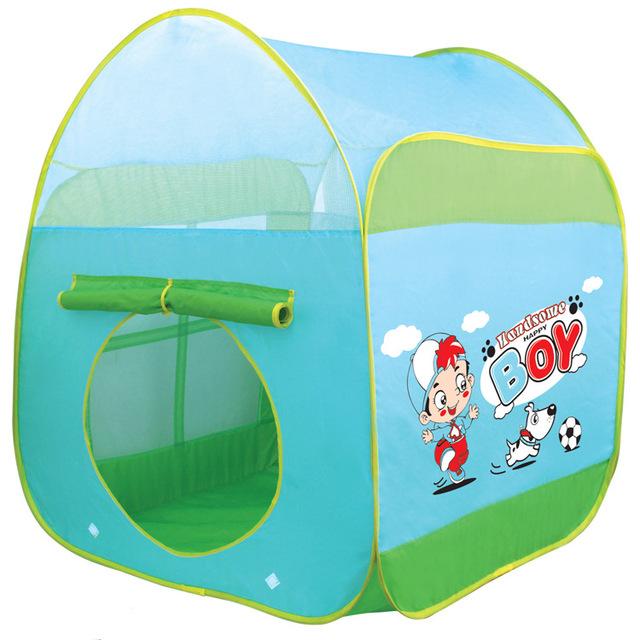 As crianças brincam tenda casa grande do bebê oceano piscina de bolinhas casa de bonecas dos desenhos animados tenda brincar de casinha barraca iglu inflável