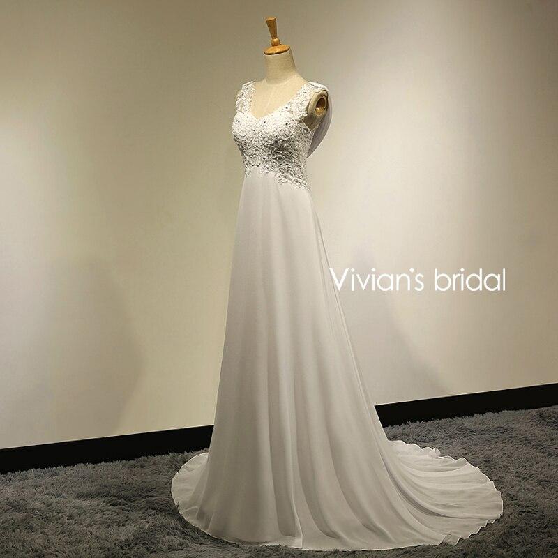 Chiffon wedding dresses cheap
