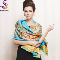2013 New Design China Style Long 100 Pure Silk Scarf 175 52cm Hot Sale Female Digital